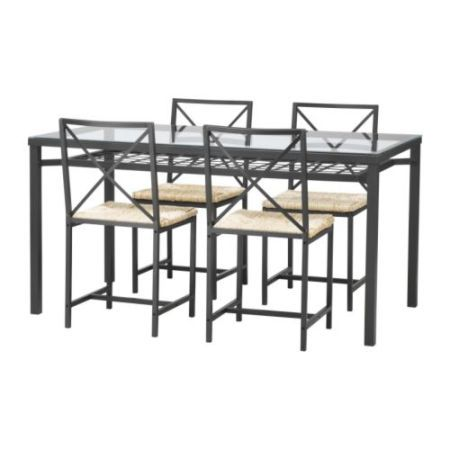 Ikea Granas Dining Table Set Ikea Glass Dining Table Ikea Dining Glass Top Dining Table