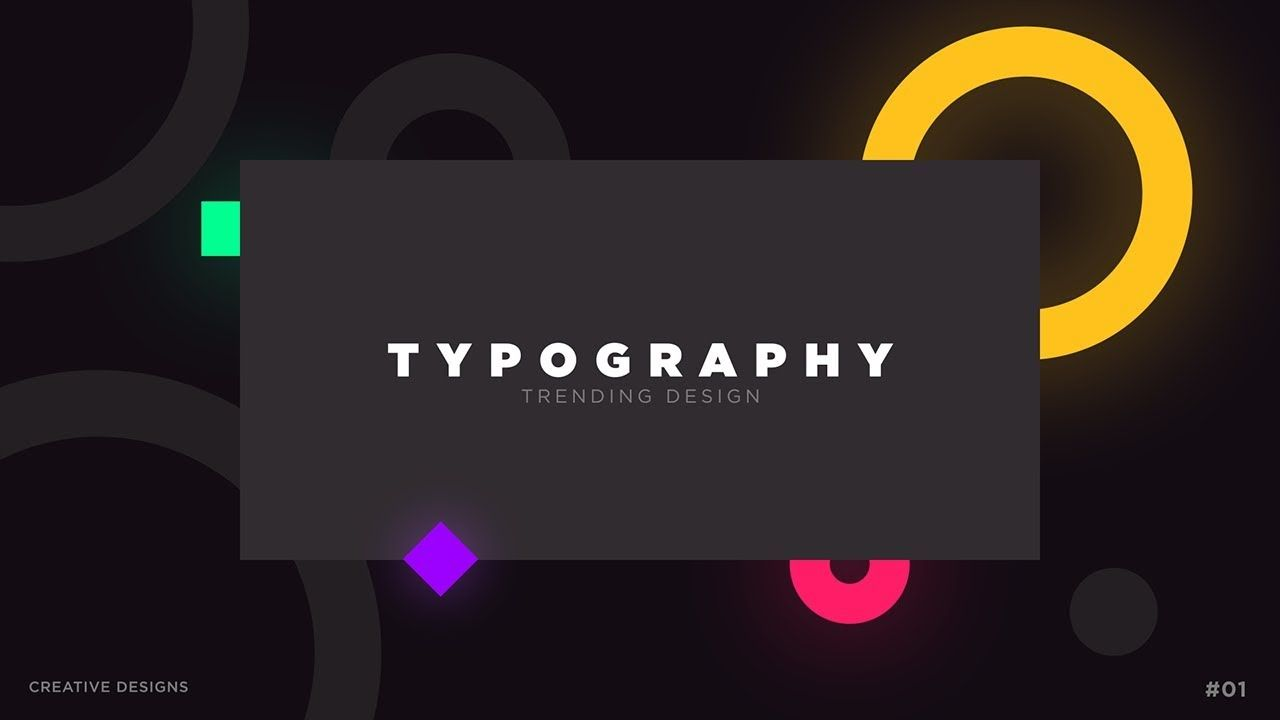 After Effects Tutorial Animated Typography Slide In After Effects