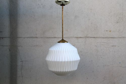 24″ Drop Down Frosted Glass Fixed Pendant Light with 12 ...