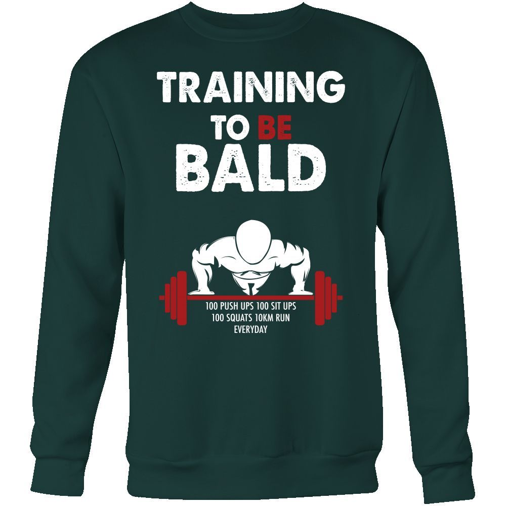 One Punch Man - Saitama Training to be bald - Sweatshirt T Shirt - TL00917SW
