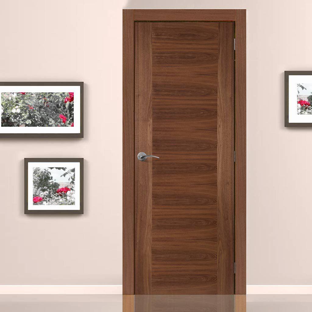 Aspect Walnut Veneer Fire Door 1 2 Hour Fire Rated Pre Finished Fire Doors Internal Doors Tall Cabinet Storage