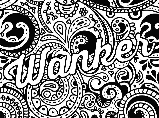 Disney Inside Out Coloring Pages Pdf : Best swear word coloring books a giveaway! adult coloring