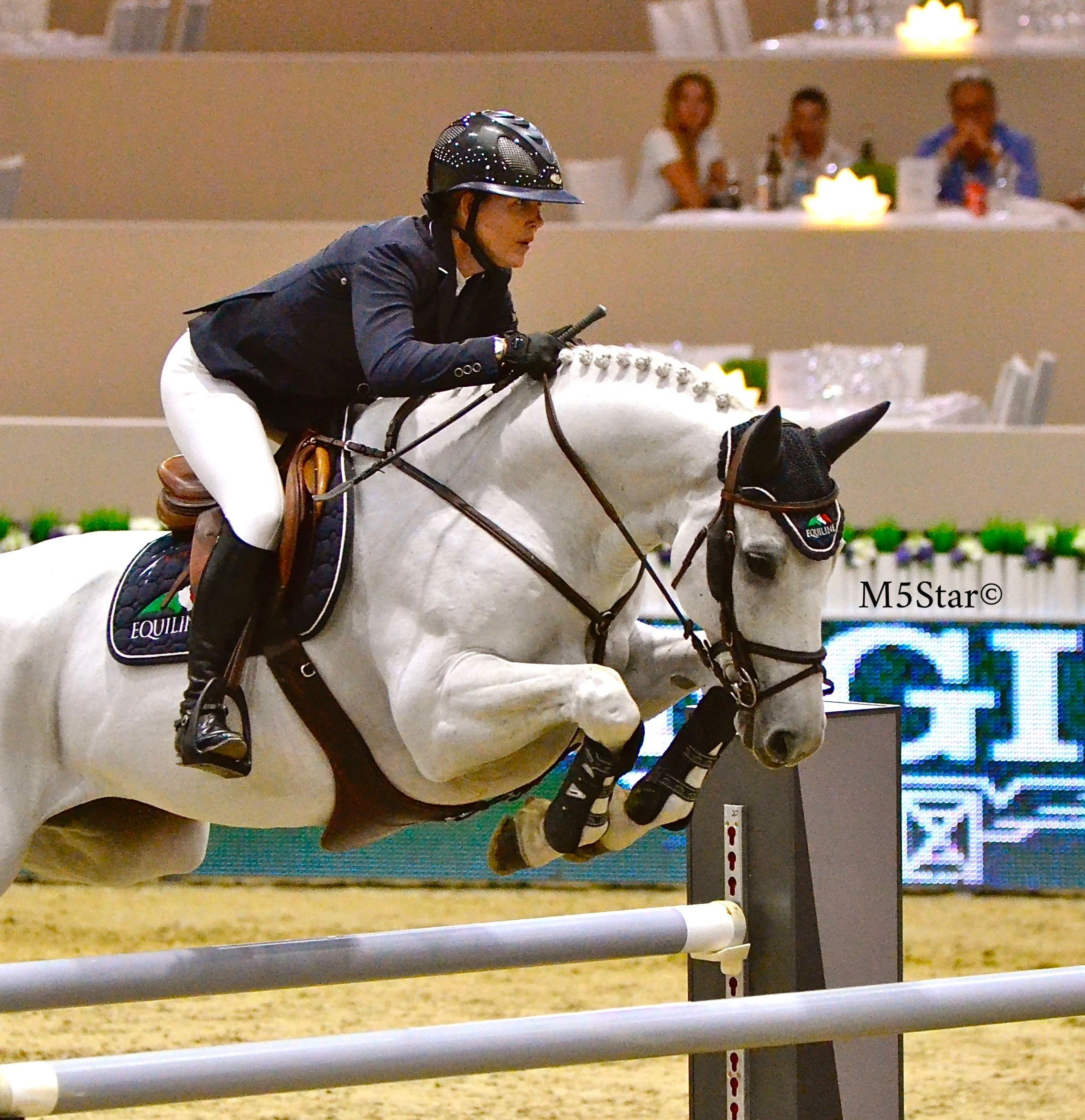 Lauren Hough at the Longines Masters of Los Angeles 2015