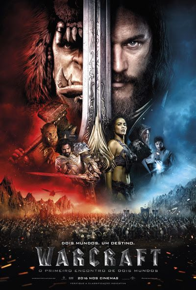 Warcraft O Primeiro Encontro De Dois Mundos Poster Filme Warcraft Filmes Completos E Dublados Ver Filmes Online Gratis