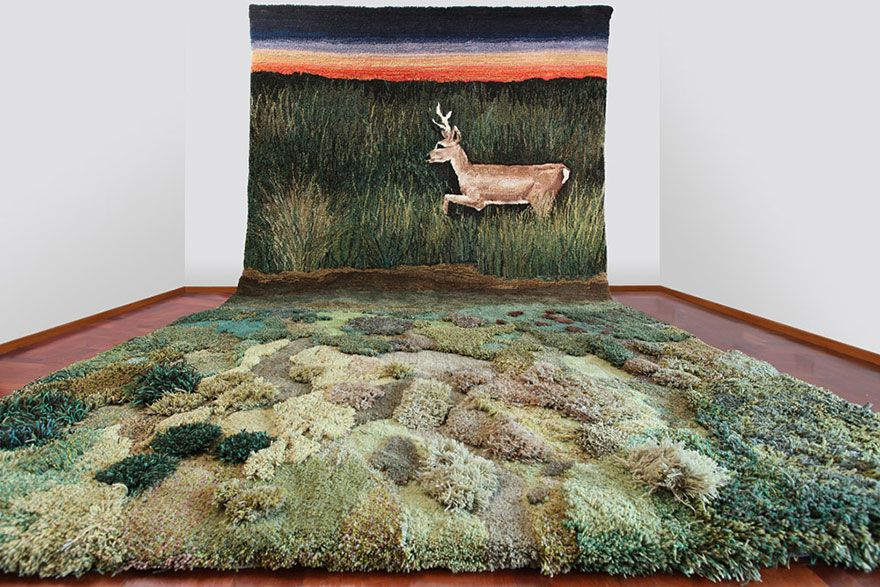 Unique Wool Rugs That Bring Moss And Meadows Into Your Home Rugs On Carpet Rugs Art