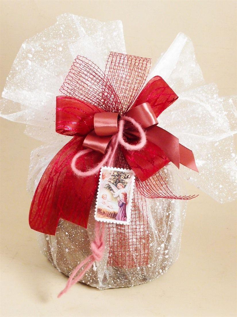 Idea pacco regalo confezione portapanettone idee creative for Idee e accessori
