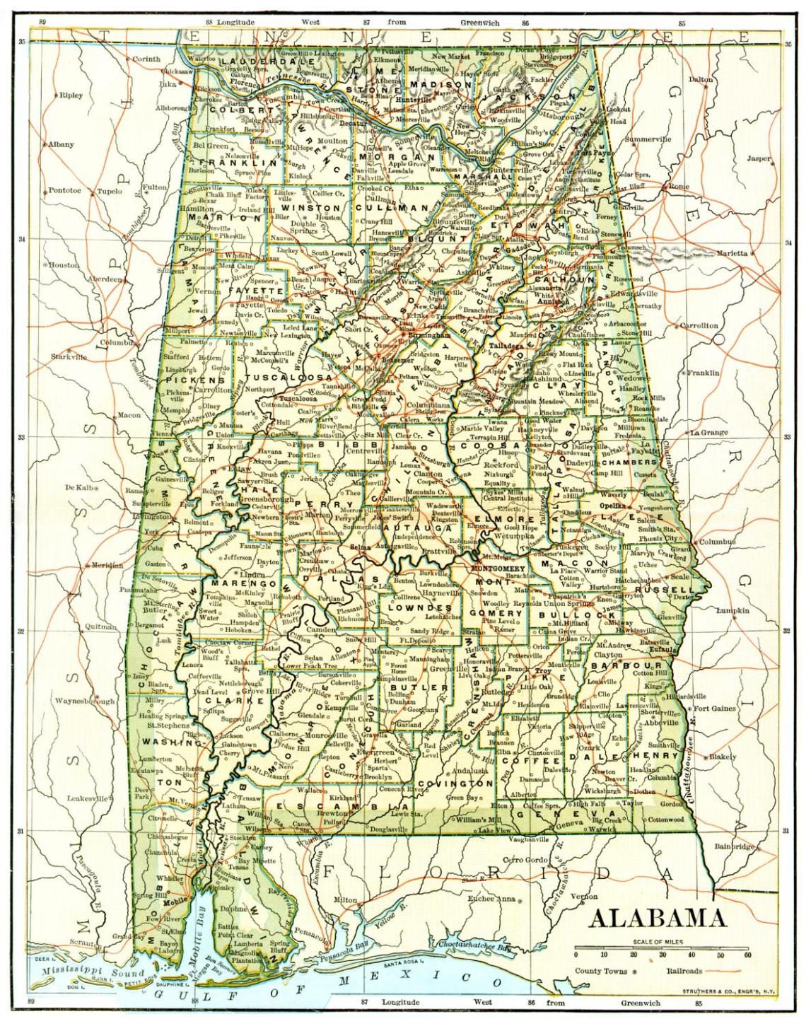 State of Alabama ... | Alabama | Alabama, Sweet home alabama ... on map of georgia alabama line, map of counties of georgia, map of georgia geology, county map georgia and alabama, map mississippi and alabama, map tuscaloosa al, map of lagrange georgia, map of sw georgia, map of southern montana, map tennessee and alabama, map of northwest ga,