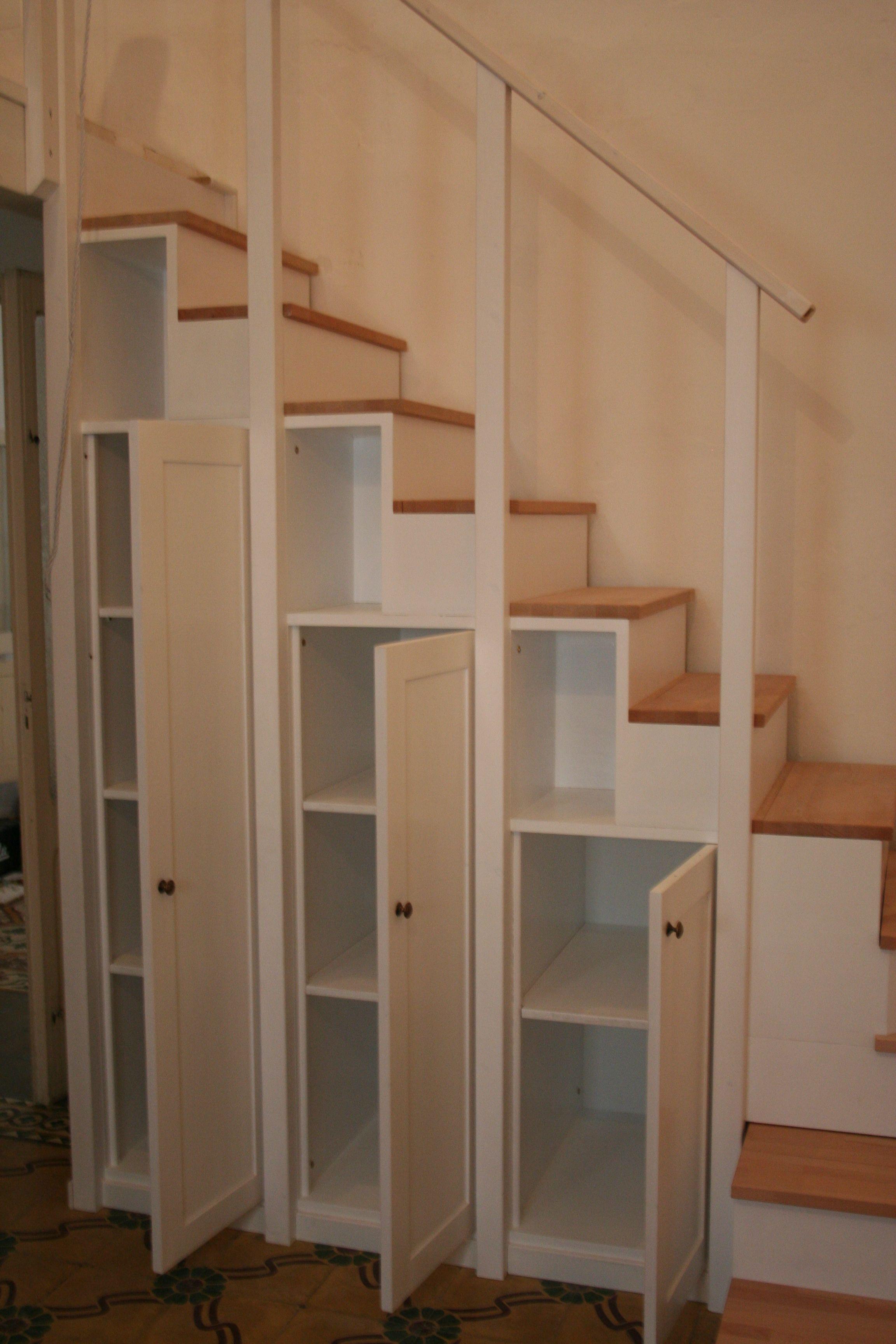 Scala dispensa per soppalco piccoli spazi nel 2019 loft stairs room e house - Scale d interni ...