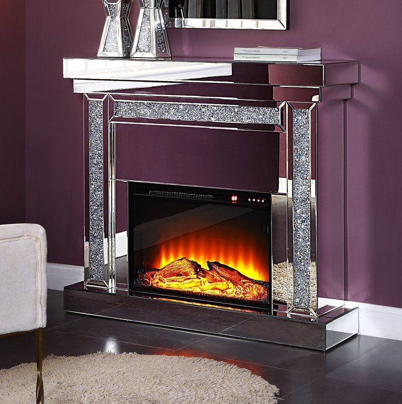 Rosdorf Park Kiley Electric Fireplace Wayfair Acme Furniture