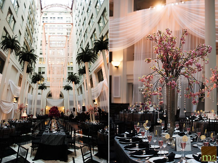 The Atrium At Curtis Center Wedding Philadelphia Photographer M2 Photography Creative
