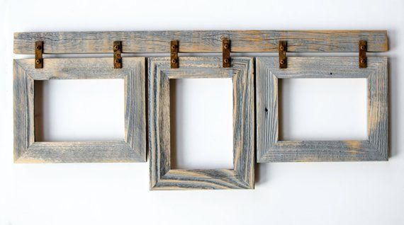 rustic collage picture frames 2
