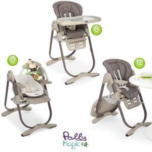 chaise haute 3 en 1 polly magic partir de la naissance. Black Bedroom Furniture Sets. Home Design Ideas
