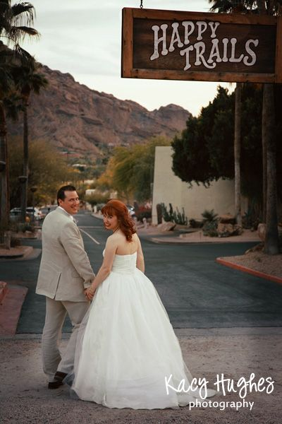Happy Trails to You from your friends at JW Marriott Camelback Inn Resort & Spa. Credit: Kacy Hughes Photography