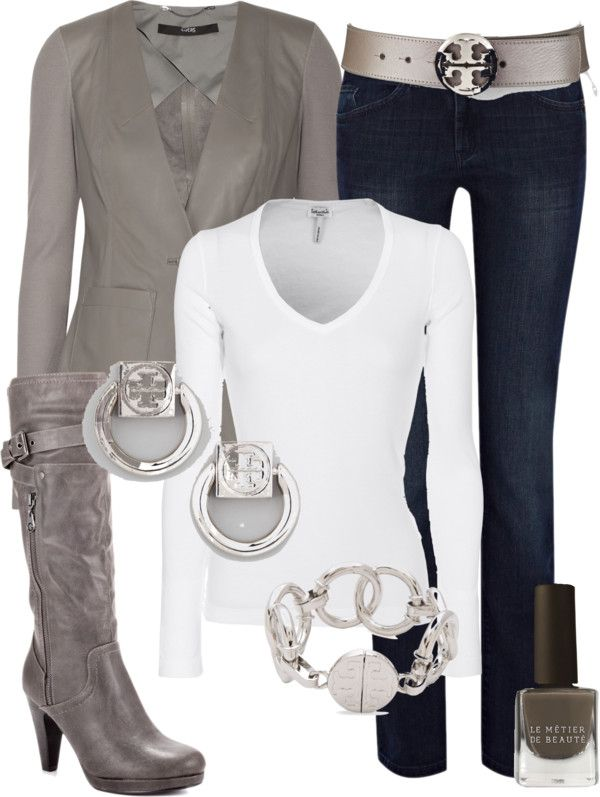 """""""Couture Chic Designs~Outfit Tory Burch"""" by jgalonso on Polyvore"""