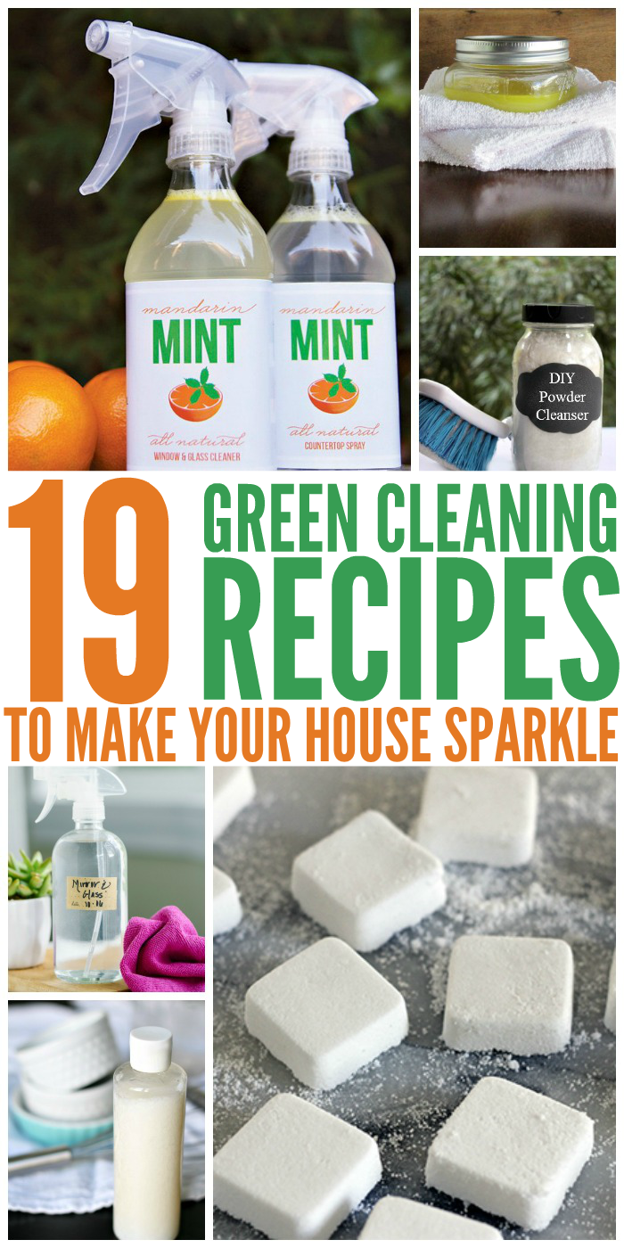 19 Green Cleaning Recipes To Make Your House Sparkle One