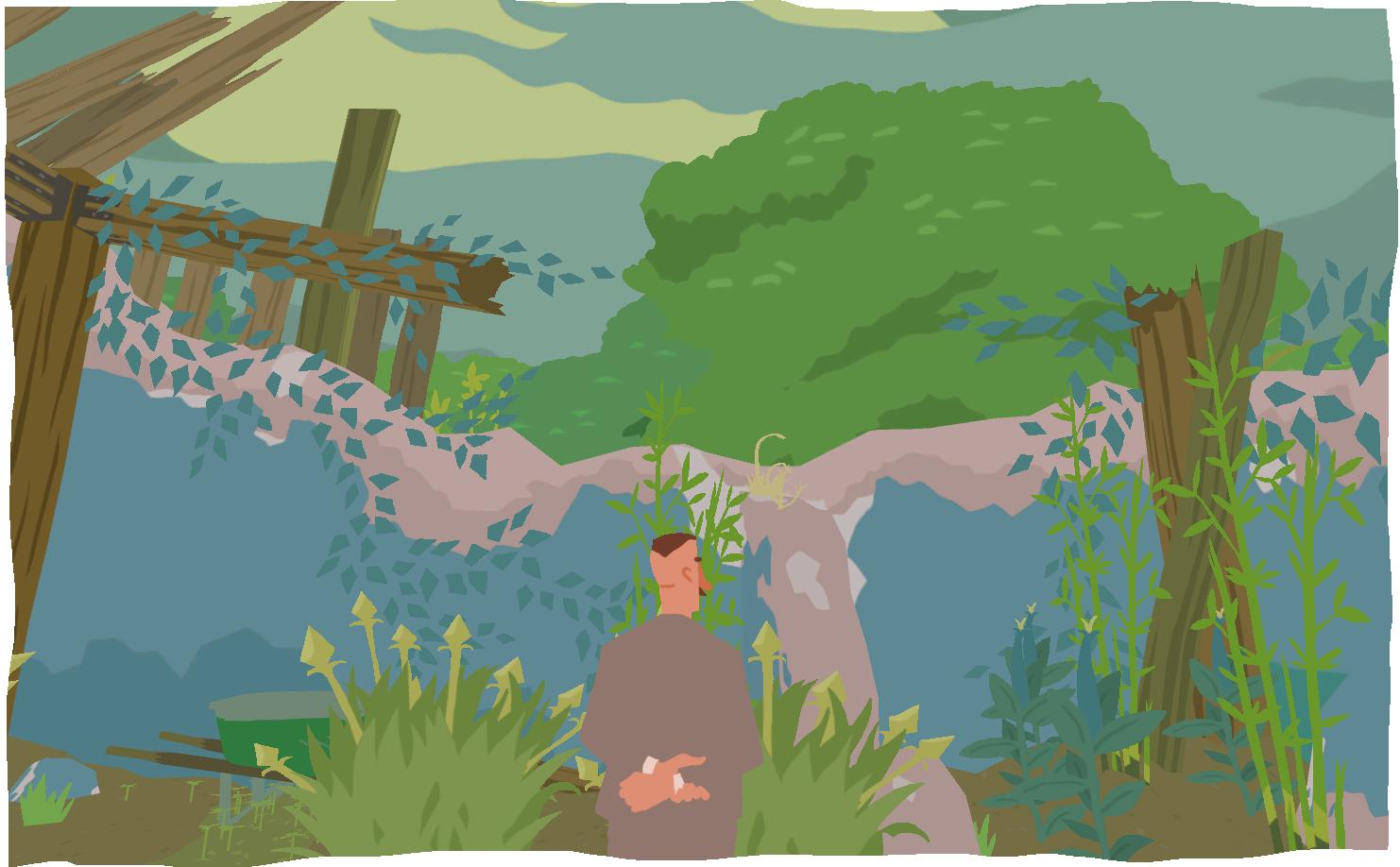 A Good Gardener Design Game Art Garden Game Art Game Design