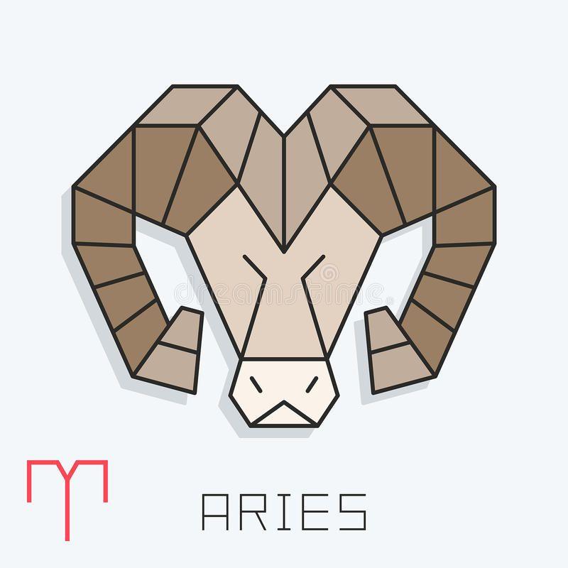 Photo About Aries Zodiac Sign Horoscope Symbol Vector Illustration Illustration Of Isolated Astrology Libra 92100937 Aries Sign Zodiac Signs Aries Aries