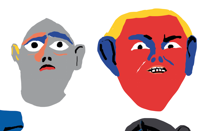Illustrations for Morgenbladet - marikajo.com