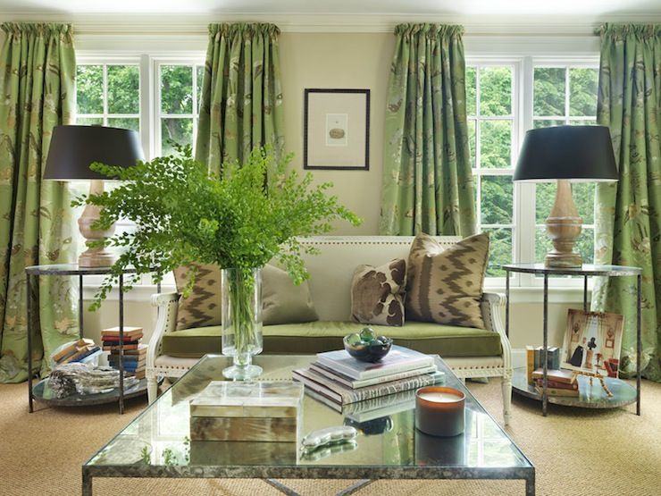 Hudson Interior Designs Pretty Living Room With Oatmeal Colored