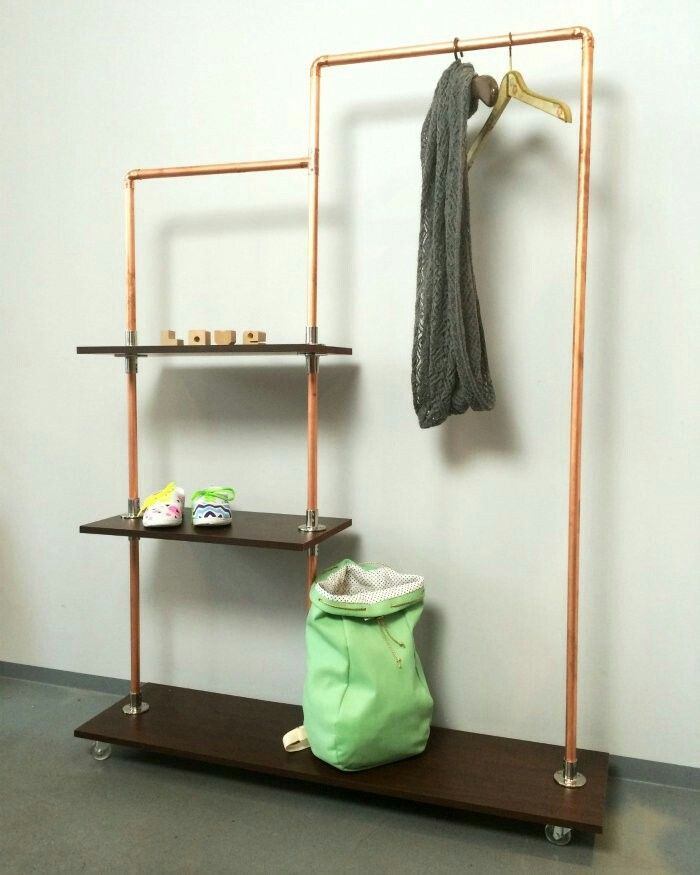 kleiderstange basteln basteln diy regal selber bauen regal und regal bauen. Black Bedroom Furniture Sets. Home Design Ideas