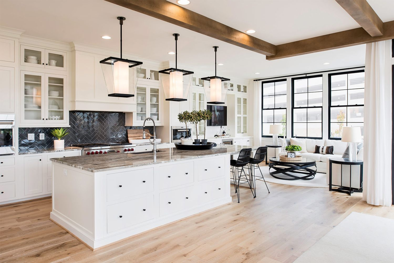 1LX Kitchen oneloudoun chef kitchen New homes for