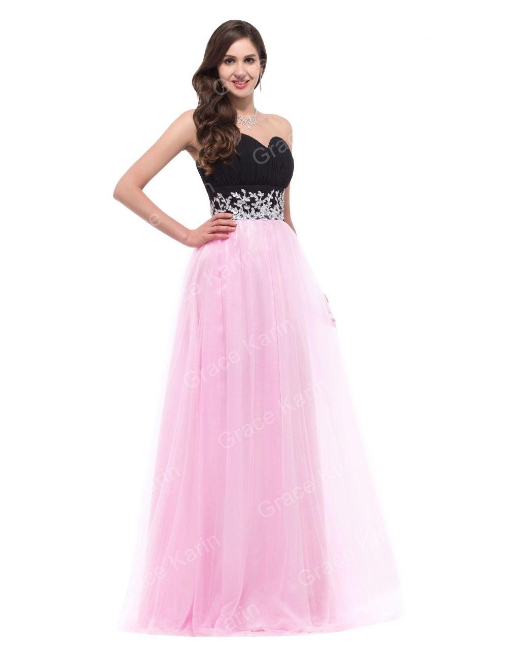 Aliexpress.com: Comprar Gracia Karin vestidos noche largo 2016 Sexy ...