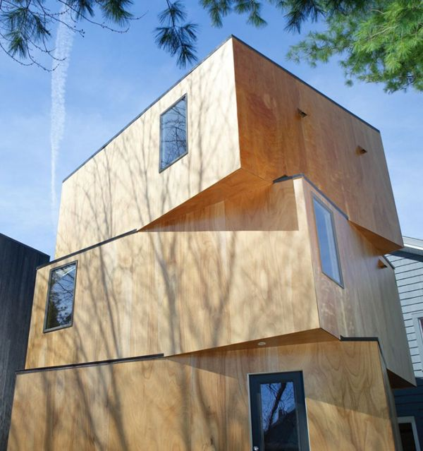 Compact Home Design - Amazing Stacked House | Compact and ...
