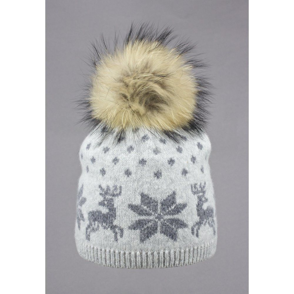 fc3ed789c5d Steffner Nordic Womens Ski Hat In Light Grey