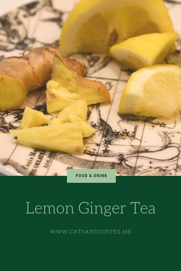 Lemon ginger tea food and drink food ginger tea