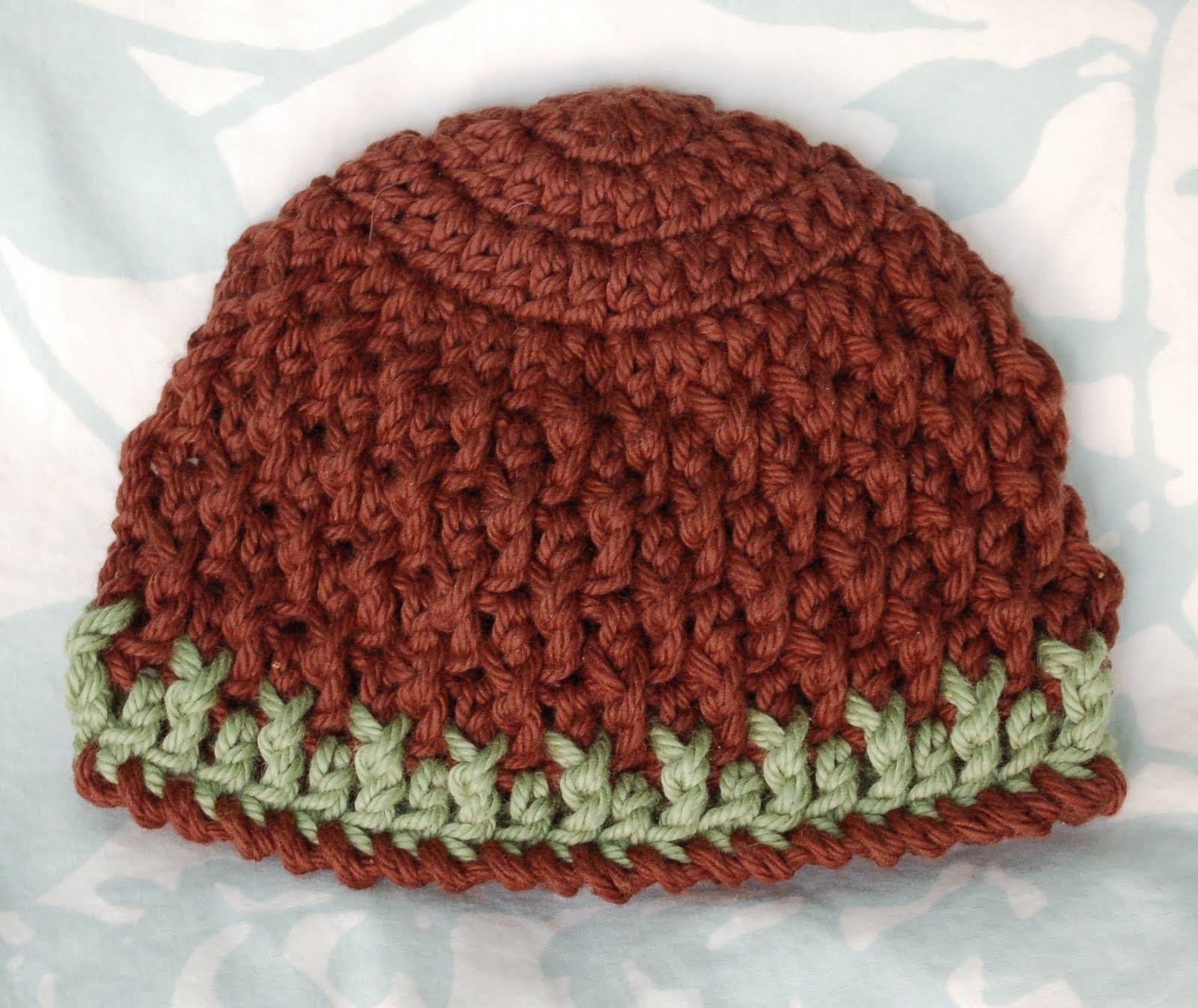 Alli Crafts: Free Pattern: Deeply Textured Hat - Newborn | Baby ...