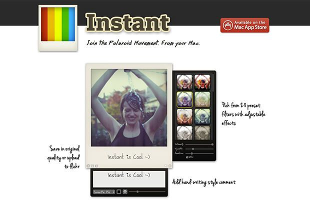 Polaroid Instant App Brings InstagramStyle Filters to
