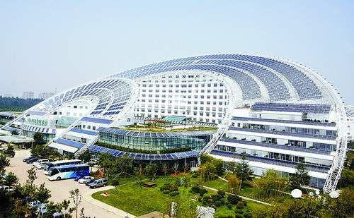 World Largest Solar Powered Building Shandong China 88