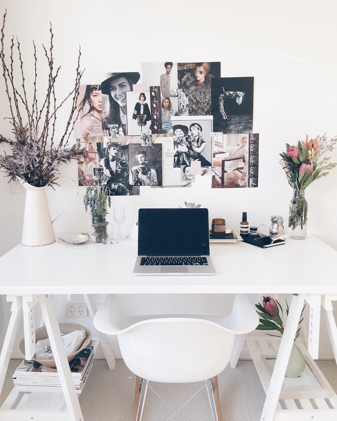 Home Office, Arbeitsplatz zuhause für kleine Wohnungen #interior ...
