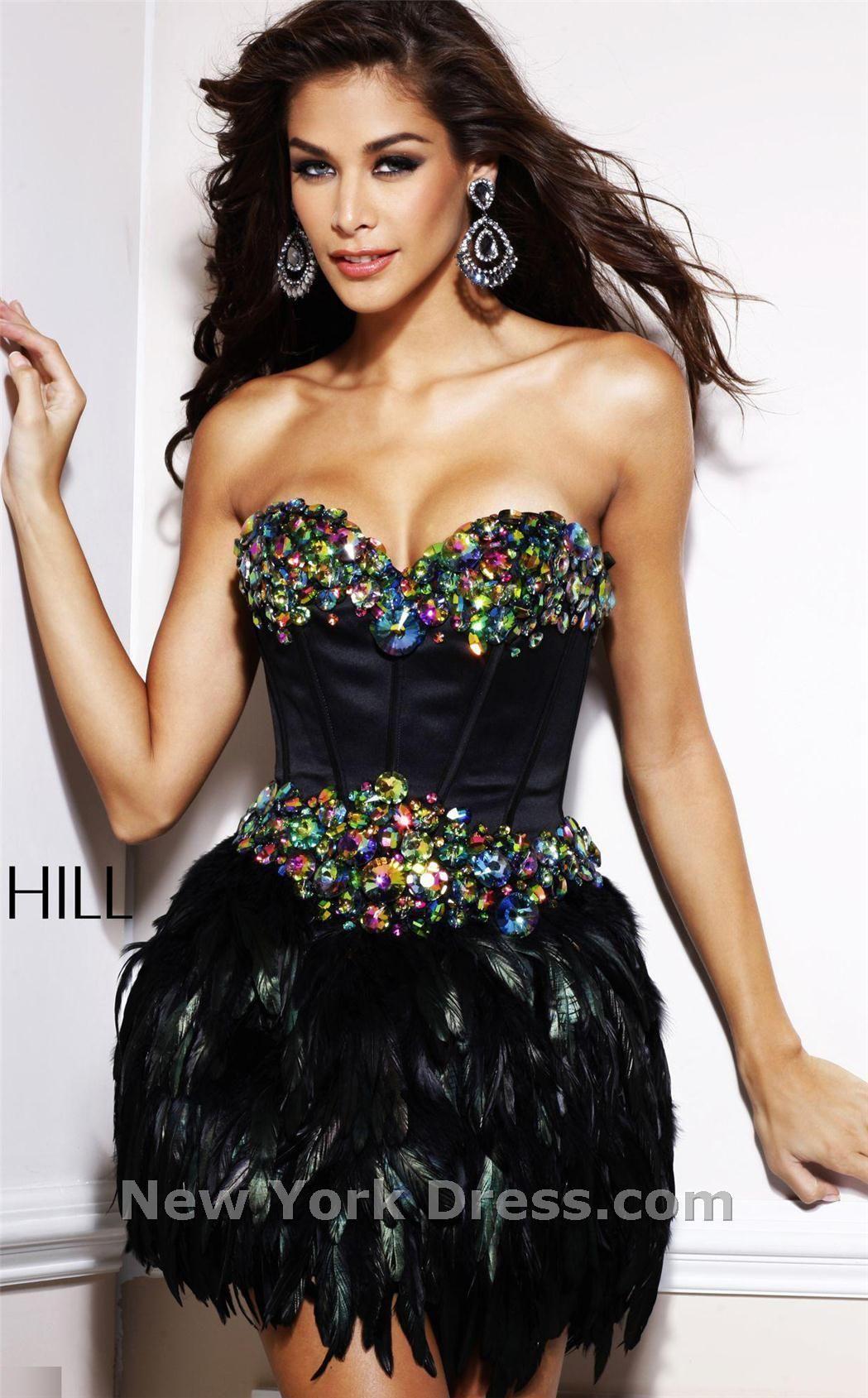 Sherri hill dress diamond strapless sweetheart neckline and