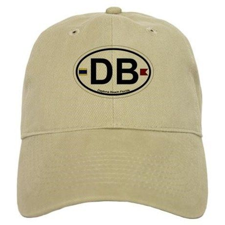 Daytona Beach FL Baseball Cap on CafePress.com