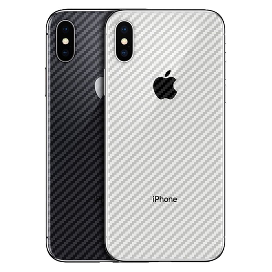 Transparent 3D Carbon Fiber Guard Protector Protective Film for iPhone 11  Pro 5 5S 6 6S 7 8 Plus X XR XS Max Back Screen Cover | Aalamey Shop in 2020  | Screen protector iphone, Phone screen protector, Iphone