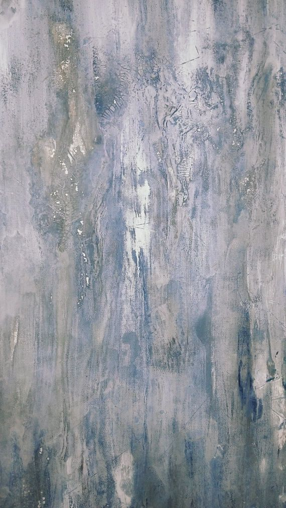 Gray Escape 30 x 40 Modern Minimalist Abstract Large ...