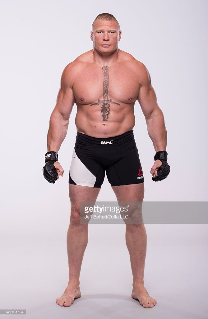 Brock Lesnar Of Canada Poses For A Portrait During A Ufc Photo Brock Lesnar Ufc Fighters Men Ufc Fighters