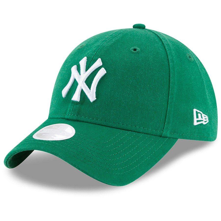 f9583d70cfa Women s New York Yankees New Era Green Core Classic Twill St. Patrick s Day  9TWENTY Adjustable Hat
