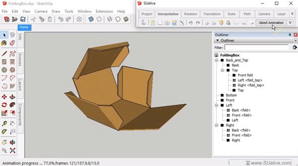 Animation SUalive Free is the newest sketchup plugin to