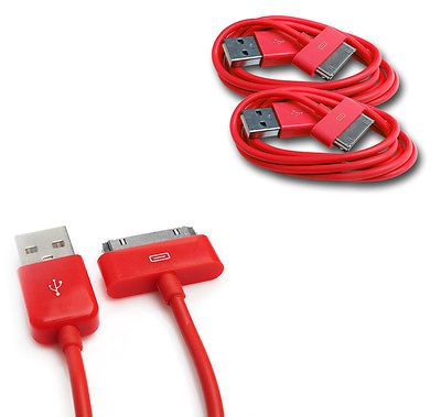 10X 6FT USB 30PIN BLACK CABLE DATA CHARGER FOR GALAXY TAB 7.0 PLUS 8.9 10.1