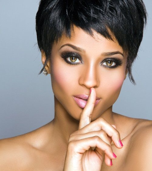 Very Short Hairstyles for Black Women with Square Faces