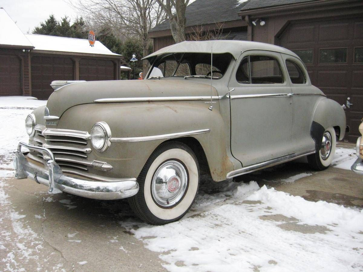 1948 Plymouth Special Deluxe Coupe Plymouth Plymouth