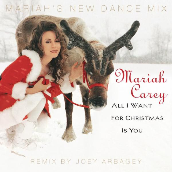 Mariah Carey All I Want For Christmas Is You Single Best Christmas Songs Mariah Carey Christmas Favorite Christmas Songs