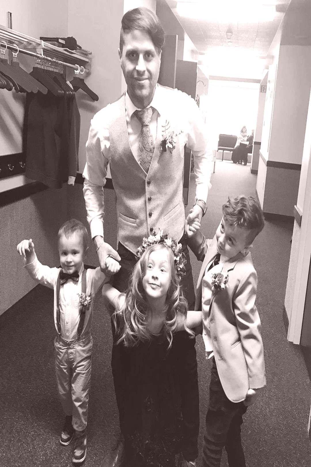 #peoplepeople #weddingday #kidsworld #fitworld #standing #nephews #fashion #indoor #son #and #4 nephews son kidsworld fashion fitworld weddingdayYou can find Kidsworld and more on our website.nephews son kidsworld fashion fitworld weddingday