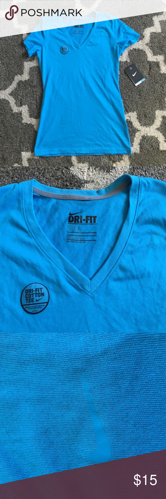 NWT Nike Dri Fit Tee S Perfect condition. No holes. No stains. Nike Tops Tees - Short Sleeve
