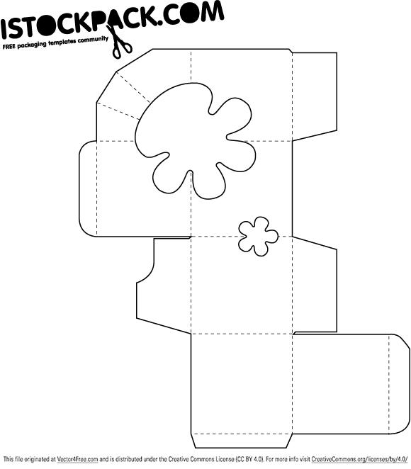 iStockPack.com Free Packaging Templates | packaging | Pinterest ...