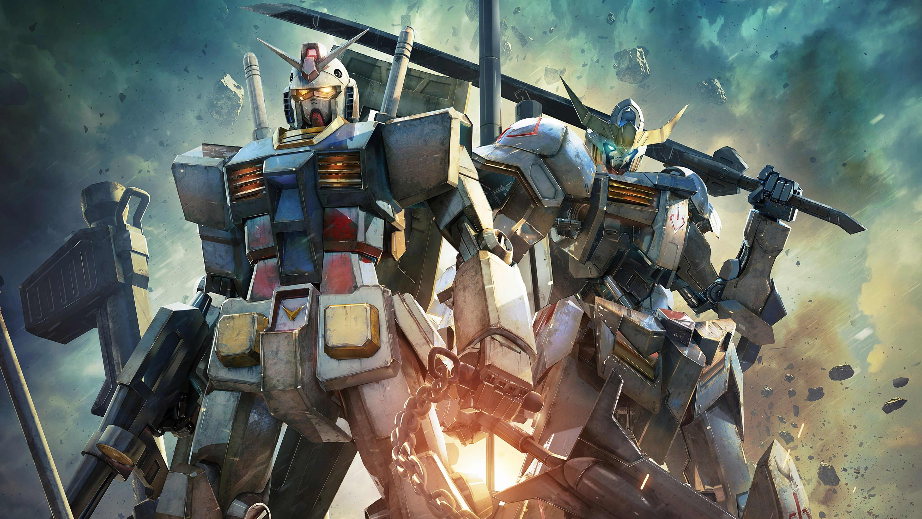 Nice Gundam Versus 4K PlayStation 4 (PS4) Game 3840x2160