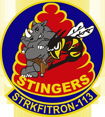 VFA-113 Stingers Navy Squadron T-Shirt