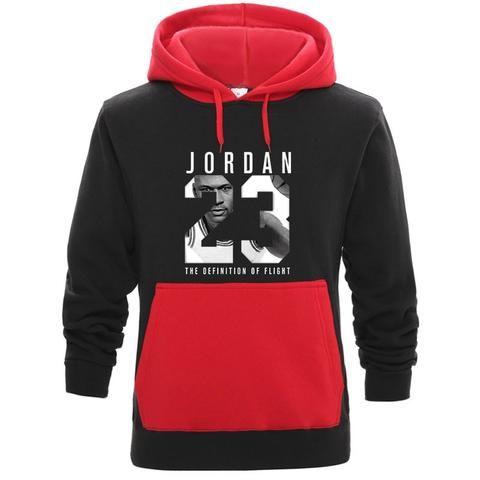 292a75268f6a New 2018 Brand mens hoodies 23 Jordan hit color hoodie men Autumn Winter  Fashion sudaderas para hombre harajuku sweatshirts men